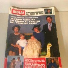Coleccionismo de Revista Hola: ANTIGUA REVISTA HOLA. Lote 192144325