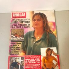 Coleccionismo de Revista Hola: ANTIGUA REVISTA HOLA. Lote 192161872