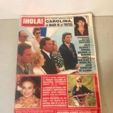 Coleccionismo de Revista Hola: ANTIGUA REVISTA HOLA. Lote 192161891