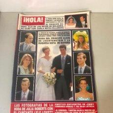 Coleccionismo de Revista Hola: ANTIGUA REVISTA HOLA. Lote 192162001