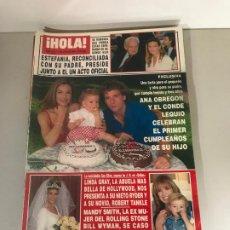Coleccionismo de Revista Hola: ANTIGUA REVISTA HOLA. Lote 192162080