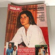 Coleccionismo de Revista Hola: ANTIGUA REVISTA HOLA. Lote 192162181