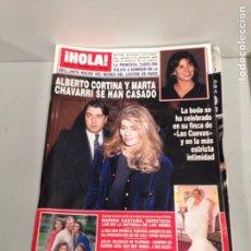 Coleccionismo de Revista Hola: ANTIGUA REVISTA HOLA. Lote 192162476