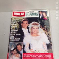 Coleccionismo de Revista Hola: ANTIGUA REVISTA HOLA. Lote 192164122