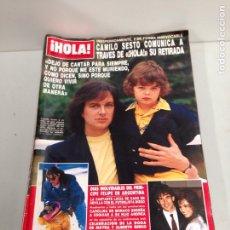 Coleccionismo de Revista Hola: ANTIGUA REVISTA HOLA. Lote 192164353