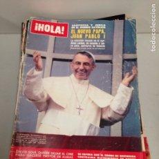 Coleccionismo de Revista Hola: ANTIGUA REVISTA HOLA. Lote 192166742