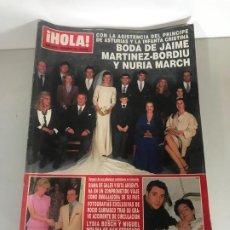 Coleccionismo de Revista Hola: ANTIGUA REVISTA HOLA. Lote 192177157