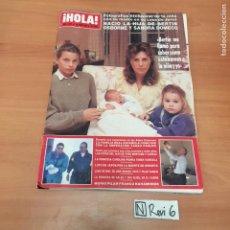Coleccionismo de Revista Hola: ANTIGUA REVISTA HOLA. Lote 192177176