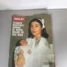 Coleccionismo de Revista Hola: ANTIGUA REVISTA HOLA. Lote 192178183