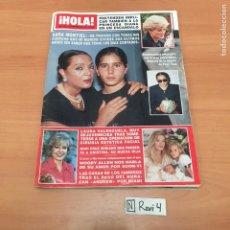 Coleccionismo de Revista Hola: ANTIGUA REVISTA HOLA. Lote 192185845