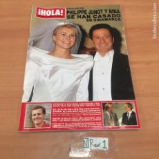 Coleccionismo de Revista Hola: ANTIGUA REVISTA HOLA. Lote 192186148