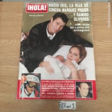 Coleccionismo de Revista Hola: ANTIGUA REVISTA HOLA. Lote 192191106