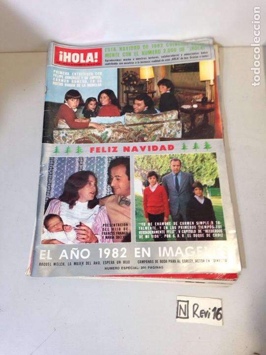 ANTIGUA REVISTA HOLA (Coleccionismo - Revistas y Periódicos Modernos (a partir de 1.940) - Revista Hola)