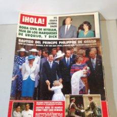 Coleccionismo de Revista Hola: ANTIGUA REVISTA HOLA. Lote 192270241