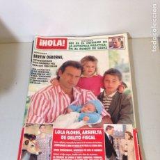 Coleccionismo de Revista Hola: ANTIGUA REVISTA HOLA. Lote 192277157