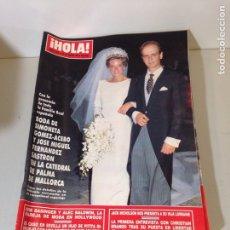 Coleccionismo de Revista Hola: ANTIGUA REVISTA HOLA. Lote 192277356