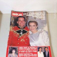 Coleccionismo de Revista Hola: ANTIGUA REVISTA HOLA. Lote 192277723