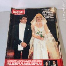 Coleccionismo de Revista Hola: ANTIGUA REVISTA HOLA. Lote 192278578