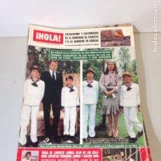 Coleccionismo de Revista Hola: ANTIGUA REVISTA HOLA. Lote 192282381