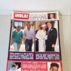 Coleccionismo de Revista Hola: ANTIGUA REVISTA HOLA. Lote 192284991