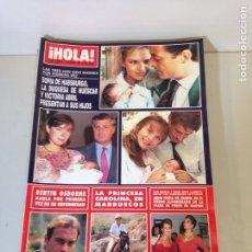 Coleccionismo de Revista Hola: ANTIGUA REVISTA HOLA. Lote 192285076