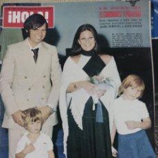 Coleccionismo de Revista Hola: REVISTA HOLA NUM 1626 25 OCTUBRE 1975.BODA EL CORDOBÉS. Lote 192658422