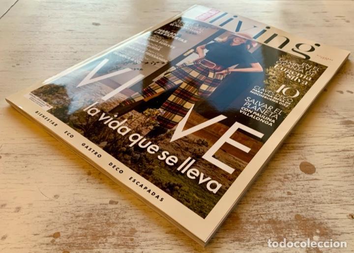 Coleccionismo de Revista Hola: ¡HOLA! LIVING NÚMERO DE LANZAMIENTO DICIEMBRE 2019. NUEVA. - Foto 3 - 193219271