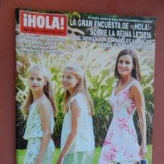 Collectionnisme de Magazine Hola: REVISTA HOLA - Nº 3915 - 2019 - FAMILIA REAL, MESSI, VICTORIA Y CRISTINA IGLESIAS.... Lote 193847042