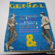 Coleccionismo de Revista Hola: REVISTA GENIAL N° 9 AÑO 1967 JUAN Y JUNIOR. Lote 194168370