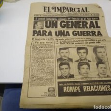 Coleccionismo de Revista Hola: PERIODICO EL IMPACIAL AÑO 1980 N° 666 GENERAL SANTANA GEO GUARDIA CIVIL . Lote 194168506