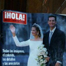 Coleccionismo de Revista Hola: REVISTA HOLA Nº 2775 BODA INFANTA CRISTINA URDANGARÍN 1997 MISS ESPAÑA PRINCE LINDA EVANS DINASTIA. Lote 194200635