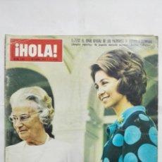 Coleccionismo de Revista Hola: REVISTA HOLA, Nº 1467, OCTUBRE 1972, PORTADA VIAJE OFICIAL DE LOS PRINCIPES DE ESPAÑA A ALEMANIA. Lote 194337182