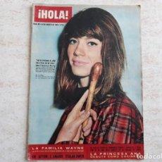 Coleccionismo de Revista Hola: HOLA 991 DE 1963.FRANCOISE HARDYM.PRINCESA ANA.ETC. Lote 194490470