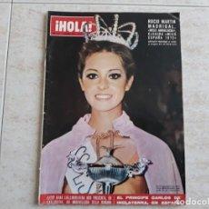 Coleccionismo de Revista Hola: HOLA NUM.1471 DE 1972.MISS ANDALUCIA.ROCIO MARTIN ETC... Lote 194491041
