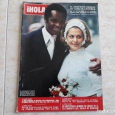 Coleccionismo de Revista Hola: HOLA 1488, AÑO 1973.BODA DE BASILIO,ONASSIS ETC.. Lote 194491741