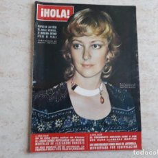 Coleccionismo de Revista Hola: HOLA 1486,AÑO 1973.PAOLA DE LIEJA,ONASSIS,JACKIE ETC.. Lote 194491882