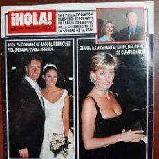 Coleccionismo de Revista Hola: REVISTA HOLA AÑO 1997 N 2762- PAULINA RUBIO- ANA OBREGON- MICHAEL JACKSON- INES SASTRE Y PREYSLER. Lote 194510945