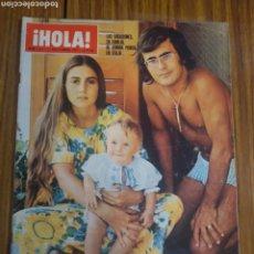 Coleccionismo de Revista Hola: REVISTA HOLA ROMINA POWER Y ALBANO NÚMERO 1411 11 DE SEPTIEMBRE 1971. Lote 194623262