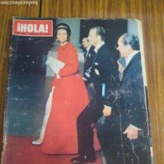 Coleccionismo de Revista Hola: REVISTA HOLA VIAJE DE LOS PRÍNCIPES DE ESPAÑA A ESTADOS UNIDOS NÚMERO 1380 6 DE FEBRERO 1971. Lote 194623641