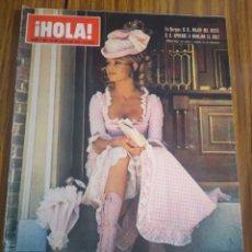Coleccionismo de Revista Hola: REVISTA HOLA LA EMPERATRIZ FARAH EN MONTREAL NÚMERO 1402 10 DE JULIO 1971. Lote 194630638