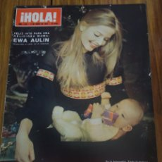 Coleccionismo de Revista Hola: REVISTA HOLA EWA AULIN , FAMILIA KENNEDY SOFÍA LOREN. Lote 194630855