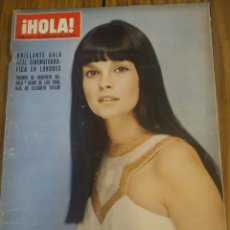 Coleccionismo de Revista Hola: REVISTA HOLA CARLOS DE INGLATERRA ELIZABETH TAYLOR NÚMERO 1332 7 DE MARZO DE 1970. Lote 194631290