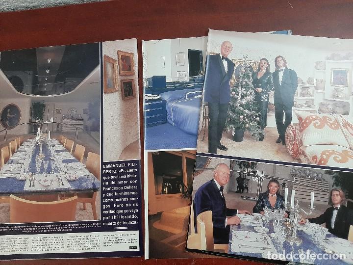 Coleccionismo de Revista Hola: VICTOR MANUEL SABOYA Y MARIA DORIA Y PRINCIPE EMMANUEL - ENTREVISTA- RECORTE 10 PAG. HOLA AÑO 1992 - Foto 2 - 194644882