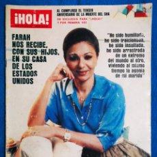 Coleccionismo de Revista Hola: ¡HOLA! 30 07 83. Lote 194714925