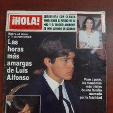 Coleccionismo de Revista Hola: HOLA Nº 2322 AÑO 1989- MARTA FERRUSOLA-CARMEN ROSSI- LUIS ALFONSO- REVISTA. Lote 194715130