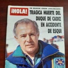 Coleccionismo de Revista Hola: HOLA Nº 2321 AÑO 1989- PACO Y RAFI CAMINO ENTREVISTADOS POR CARMEN ORDONEZ- REVISTA. Lote 194715536