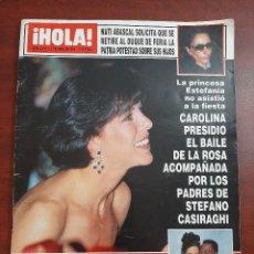 Coleccionismo de Revista Hola: HOLA Nº 2538- AÑO 1993- CAROLINA MONACO- MUERTE MADRE ROCIO DURCAL- ALPACINO- REVISTA. Lote 194715796