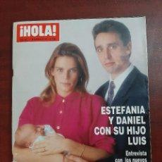 Coleccionismo de Revista Hola: HOLA Nº 2523- AÑO 1992-ESTEFANIA MONACO-ISABEL PANTOJA-TONY ISBERT-ELLE MACPHERSON- REVISTA. Lote 194719751