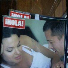 Coleccionismo de Revista Hola: HOLA N° 3228 JUNIO 2006 EXCLUSIVA ANGELINA Y BRAD JUNTO A SU NUEVA HIJA. Lote 194723717