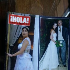 Coleccionismo de Revista Hola: REVISTA HOLA Nº 3229 AÑO 2006. CARMEN MARTINEZ BORDIU. BODA BERTIN OSBORNE Y FABIOLA MARTINEZ. . Lote 194723885
